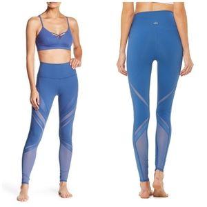 Alo Yoga Epic High Waist Leggings Cobalt Blue